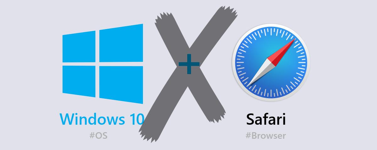 Windows10に入れたSafariでWEBページを開けなかった時の対処方法