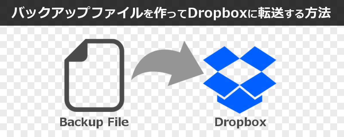 Cronを使って自作バックアップファイルをDropboxに自動転送する方法
